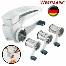 New Westmark Germany Multipurpose Rotary Cheese & Vegetable Grater Cutter Slicer