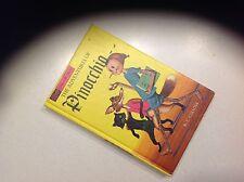 The Adventures of Pinocchio by C. Collodi 1965 VTG HC Decorative