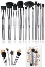 As Morphe Set - Makeup Brushes Premium 12 Pcs Foundation Powder Concealer Kabuki