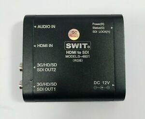 SWIT S-4601 HDMI to 3G-SDI Converter