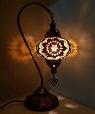 Turkish Table Lampe Marocain Coloré Verre Mosaïque Lampe Lumière Ce Tested
