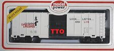 HO SCALE MODEL POWER WHITE OPERATION LIFE SAVER BOX CAR