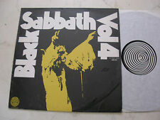 BLACK SABBATH Vol 4 *RARE ISRAEL SWIRL PRESS!!* NO FOC!
