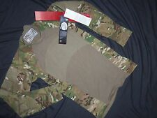 MULTICAM MASSIF GEAR SHIRT COMBAT S SMALL NEW TAGS MADE USA MILITARY ISSUE ACU w