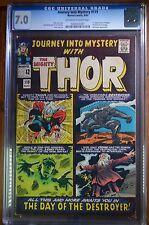 JOURNEY INTO MYSTERY Thor #119 CGC 7.0  O-W/W 1st App. Hogun  Marvel 8/65