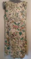 """Stunning shift dress 36"""" chest floral wild flowers formal beautiful"""
