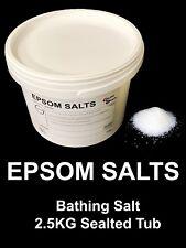 Sal De Epsom | 2.5 kg | alimentos grado farmacéutico Cubo | | Sulfato De Magnesio