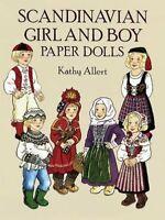 Scandinavian Girl and Boy Paper Dolls (D... by Allert, Kathy Miscellaneous print