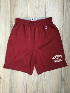 Champion Washington University in St. Louis Vintage Mesh Gym Shorts size M