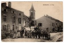 Real Picture Post Card RPPC Thouvenin Marbache France Photo Family Village