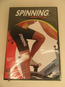 NEW Spinning Heart Racer Indoor Cycling DVD  Sealed
