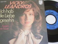 """7"""" - Vicky Leandros Ich hab die Liebe geseh'n & Augen wie Feuer - 1972 # 3417"""