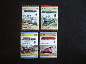 Stamps - St. Vincent - Scott# 787-790
