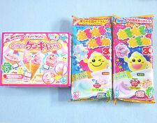 Kracie 3 Pieces Set Cake Neruneru Japanese Candy Kit Popin Cookin Ice Cream Gift