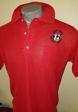 Vtg polo United States Cycling Federation Shirt USCF Racing Costa mesa classic