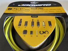 Jagwire Road Strada Bicicletta completa Pro freno e Gear Set cavo giallo