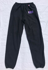 VTG - Sacramento Kings - CHAMPION - Reverse Weave Black Sweatpants - Men's 2XL