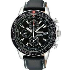 Seiko Stainless Steel Case Adult Wristwatches