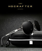 Black Polarized Aviator Men Glasses Outdoor Sports Eyewear Driving UV Sunglasses