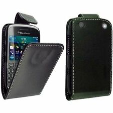 Blackberry 9320 Curve - Housse Etui à Clapet Cuir Eco + 1 protection écran