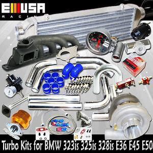Precision 5431 T3/T4 Turbo Kits BMW 2000-2006 330xi/330i/330ci E46 V6 Engine