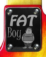 Neck Plate Neckplate Chrome Fender Strat Tele P Bass J Bass Guitar Fat Boy