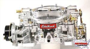 Edelbrock Remanufactured Carburetor 500 CFM Electric Choke  #1403  - See Ad