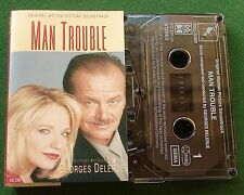 Man Trouble OST Georges Delerue Cassette Tape - TESTED