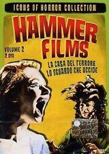 DvD HAMMER FILMS VOL.2 BOX 2 DVD - La Casa Del Terrore + Lo Sguardo Che Uccide -