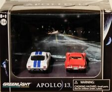 1965 shelby gt-500 + 1970 CHEVROLET CORVETTE 427 Apollo 13 set 1:64 Greenlight