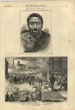 1878 Colliery Explosion At Kilsyth Kreli Chief Of Galekas Tribe