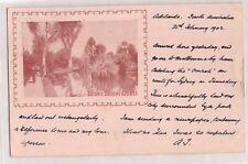 VINTAGE POSTCARD BOTANIC GARDENS ADELAIDE S.A 1902
