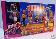 Mattel Rollerblade Barbie Snack and Surf  NIB #7142 1992 Arco Retired 1992