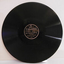 78T ORCHESTRE A. W. KETELBEY Disque Phonographe JARDIN MONASTERE - COLUMBIA 9403