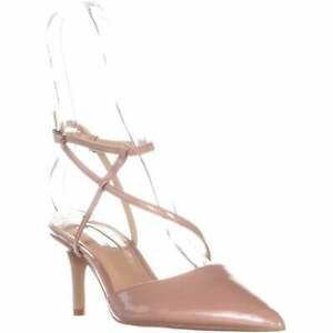 INC International Concepts Womens Lenii Fabric Pointed Toe Ankle, Nude, Size 6.5