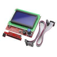 12864 Display LCD 3D Printer Controller + Adapter For RAMPS 1.4 Reprap Mendel