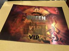More details for queen + adam lambert 2018 austrailia new zealand tour hologram lenticular