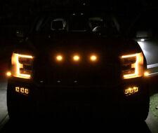 17 18 Raptor Rigid Radiance Fog Amber LED Fog light Kit Incl Brackets 2017 2018