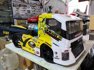 Coming soon..Hong Nor OFNA 1/8 X3 GT Jet Truck TP 4070 CM Linton X80 9kg Turbine