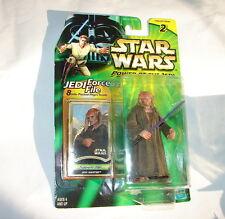 Star Wars POTJ Saesee Tiin Jedi Knight 2000 action figure MOC              1014