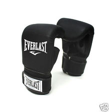 Everlast Original Red MMA Boxing Training Sports Gloves Gym Fitness Cardio Black