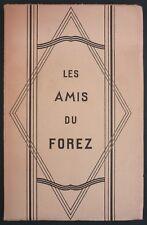 LES AMIS DU FOREZ - BULLETIN 1935 - CROIX NERVIEUX, CROZET, CHATEAU DE LA SALLE