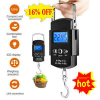 Hand LCD Electronic Digital Scale Travel Luggage Hanging 2020 NEW Hook E9R5