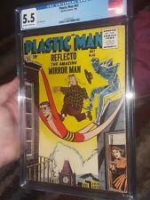 Plastic Man 63 CGC 5.5 1956