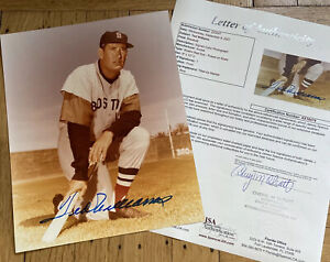 + Ted Williams Signed Autograph Auto 8x10 Color Photo JSA COA