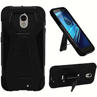 For Motorola Droid Turbo 2 Moto X Force 2 NEW Premium Hybrid TSTAND Cover Case