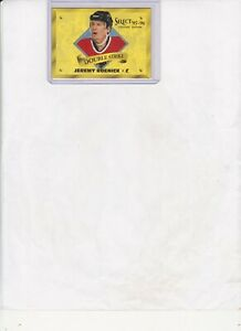 1995/96 SELECT CERTIFIED EDITION JEREMY ROENICK DOUBLE STRIKE GOLD CARD #7 of 20