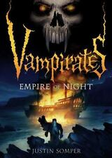 Vampirates: Empire of Night 5 by Justin Somper (2010, Hardcover)-SIGNED