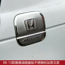 Stainless Steel Fuel Tank Cap Stickers Fit For Honda accord 1998-2021