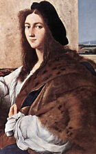 Framed Raphael Print - Portrait of a Young Man (Picture Painter Italian Artist)
